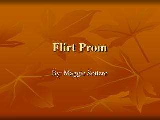 Flirt by Maggie Sottero