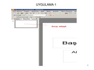 UYGULAMA-1
