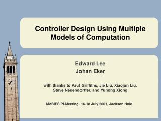 Controller Design Using Multiple Models of Computation