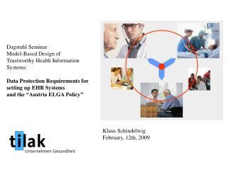 Dagstuhl Seminar Model-Based Design of Trustworthy Health Information Systems: