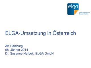 ELGA-Umsetzung in �sterreich