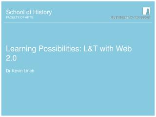 Learning Possibilities: L&T with Web 2.0