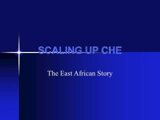 SCALING UP CHE