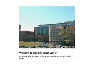 Welcome to Jacobi Medical Center