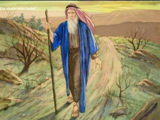 Elia vlucht voor Izebel …