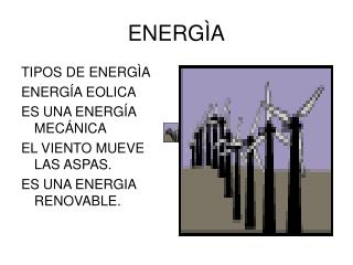 ENERG�A
