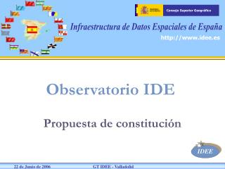 Observatorio IDE