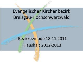 Evangelischer Kirchenbezirk  Breisgau-Hochschwarzwald