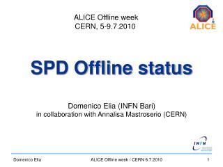 SPD Offline status