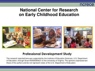 National Center for Research on Early Childhood Education
