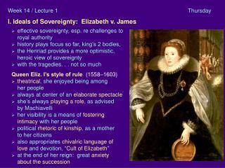 I Elizab. v James A