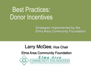 Best Practices: Donor Incentives