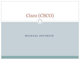 Cisco (CSCO)