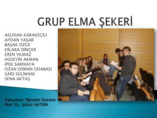 GRUP ELMA ŞEKERİ