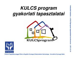 KULCS program gyakorlati tapasztalatai