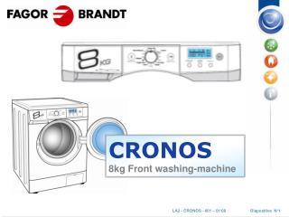 CRONOS 8kg Front washing-machine
