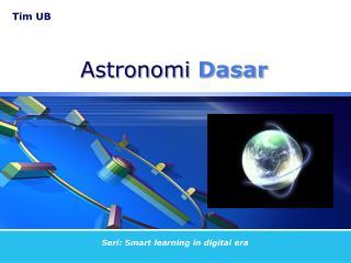 Astronomi Dasar