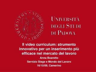Il video curriculum: strumento innovativo per un inserimento più efficace nel mercato del lavoro