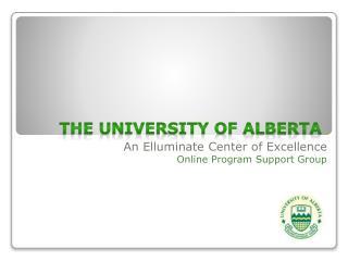 The University of Alberta
