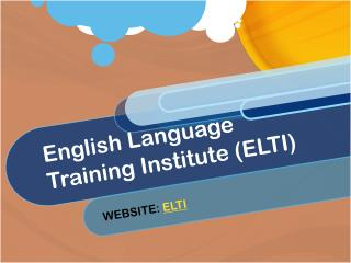 English Language Training Institute (ELTI)