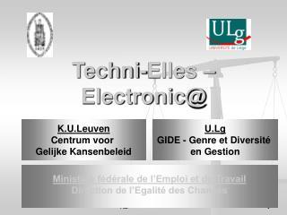 Techni-Elles – Electronic@