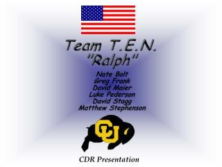 CDR Presentation