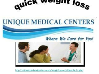 quick weight loss