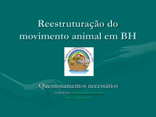 Reestrutura��o do movimento animal em BH