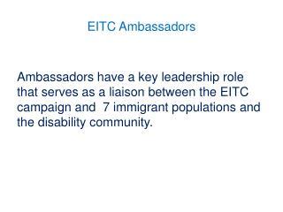 EITC Ambassadors