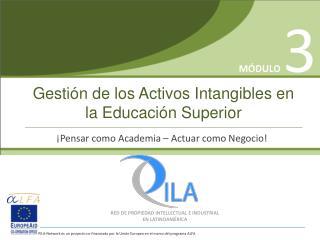 Gestión de los Activos Intangibles en la Educación Superior