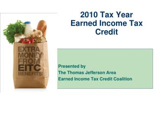 2010 Tax Year Earned Income Tax Credit