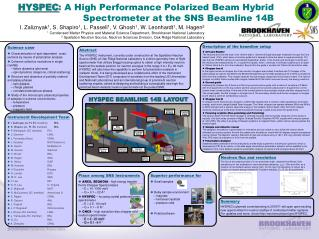 HYSPEC : A High Performance Polarized Beam Hybrid Spectrometer at the SNS Beamline 14B