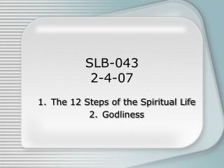 SLB-043 2-4-07