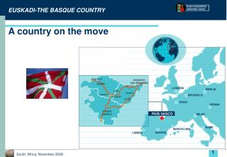 EUSKADI-THE BASQUE COUNTRY