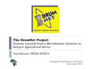 Tom Rausch, PRIDE AFRICA