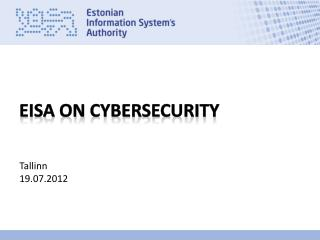 EISA on  cybersecurity