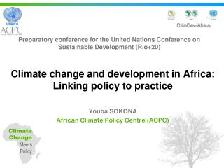 Preparatory conference for the United Nations Conference on Sustainable Development (Rio+20)