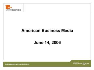 American Business Media  June 14, 2006
