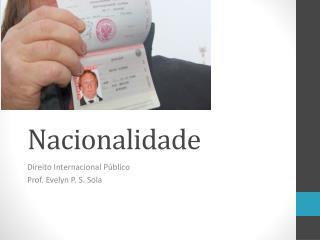 Nacionalidade