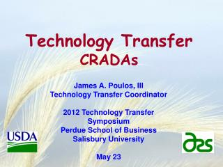 Technology Transfer CRADAs