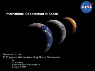 International Cooperation in Space