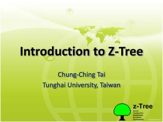 download z-Tree ppt