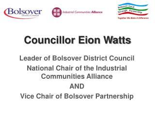 Councillor Eion Watts