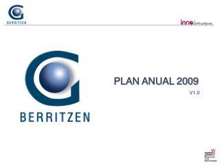 PLAN ANUAL 2009 V1.0