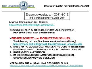 Otto-Suhr-Institut für Politikwissenschaft