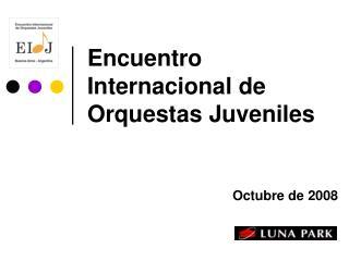 Encuentro Internacional de Orquestas Juveniles