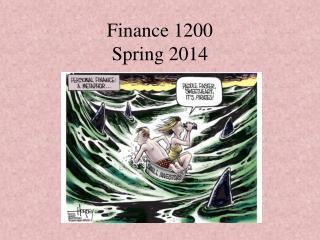 Finance 1200 Spring 2014