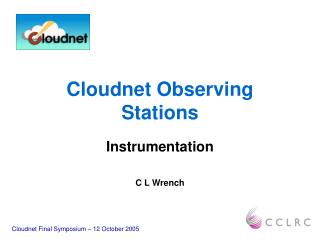 Cloudnet Observing Stations
