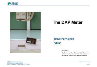 The DAP Meter