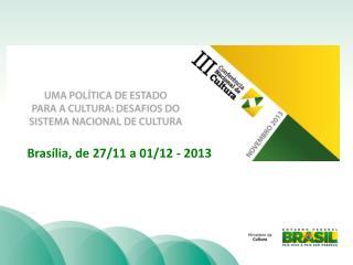 3ª CONFERÊNCIA NACIONAL DE CULTURA